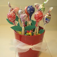 lollipop bouquet teacher gift