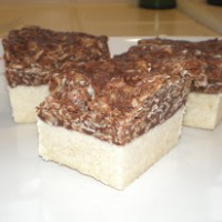 shortbread chocolate oatmeal bars