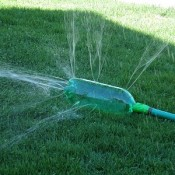homemade sprinkler