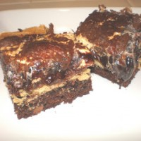 s'more stuffed brownies