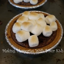 S'more Brownie Pie