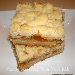 Salted Caramel Butter Bars & 12 Weeks of Christmas Cookies