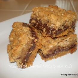 Fudgy Toffee Chip Toffee Bars and 12 Weeks of Christmas Cookies