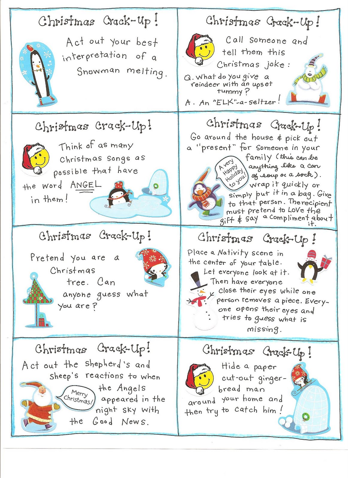 Fun Christmas Activities and Lots of Free Printables - Making ...
