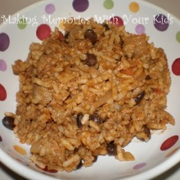 Taco Rice and Beans