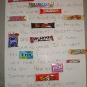 candy gram for teacher