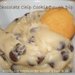 {Secret Recipe Club} Chocolate Chip Cookie Dough Dip