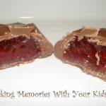 chocolate covered raspberry jellies