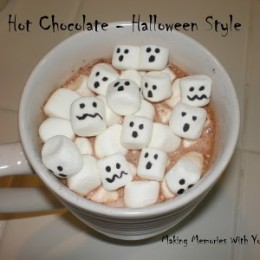 Hot Chocolate – Halloween Style