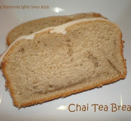 {Secret Recipe Club} Chai Tea Bread