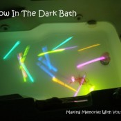 glow in the dark bath