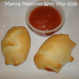 Pepperoni Pizza Cresent Rolls