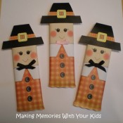 thanksgiving pilgrim candy bar wrapper