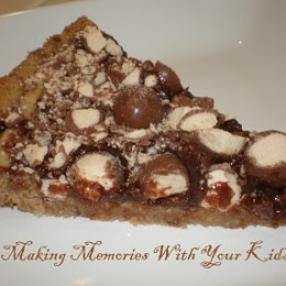 Malted Chocolate Tart