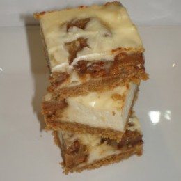 {Secret Recipe Club} Cinnamon Chip Cookie Dough Cheesecake Bars
