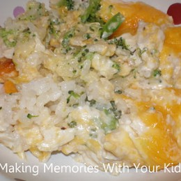 Trisha Yearwood's Chicken Broccoli Casserole