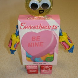 Candy Robot Valentines