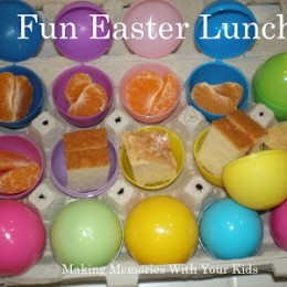 Fun Easter Lunch for the Kids