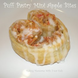 {Secret Recipe Club} Puff Pastry Mini Apple Bites