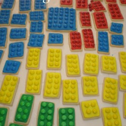 Lego Birthday Party: The Cookies