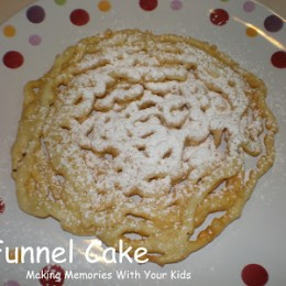 Funnel Cakes Just Like at the Fair