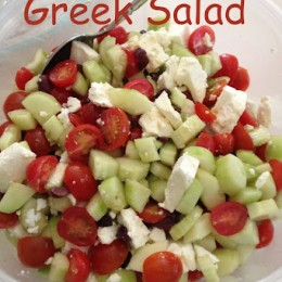 Greek Salad and a Taste of Summer