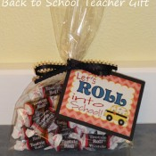 roll into school teacher gift