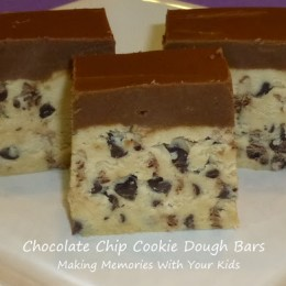 Chocolate Chip Cookie Dough Bars {Secret Recipe Club}