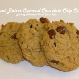 Peanut Butter Chocolate Chip Cookies and a Secret Recipe Club Tribute