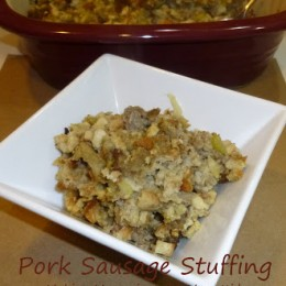 Sausage Stuffing and Some Thanksgiving Tips from Mrs. Cubbison's