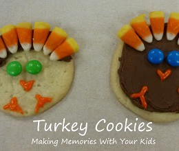 Another Turkey Cookie for Thanksgiving
