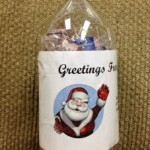 christmas bottle in the mail