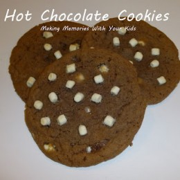 Hot Chocolate Cookies with Marshmallow Bits