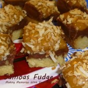 samoas fudge