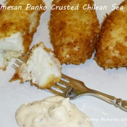 Parmesan Panko Crusted Chilean Sea Bass