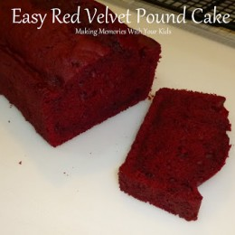 Red Velvet Pound Cake (the Easy Way)