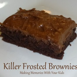 Killer Frosted Brownies {Secret Recipe Club}