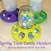 spring time candy holders