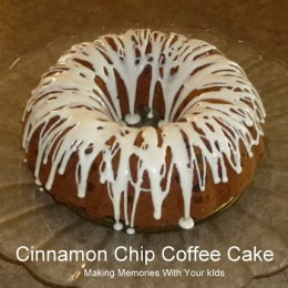 Cinnamon Chip Coffee Cake