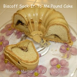 Biscoff Sock-It-To-Me Pound Cake
