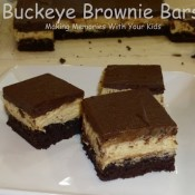 buckeye brownie bars