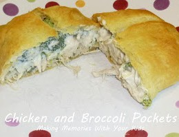 Chicken and Broccoli Pockets