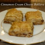 CInnamon Cream Cheese Baklava