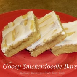 Gooey Snickerdoole Bars {Secret Recipe Club}
