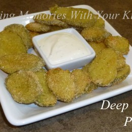 Deep Fried Pickles and a New Look