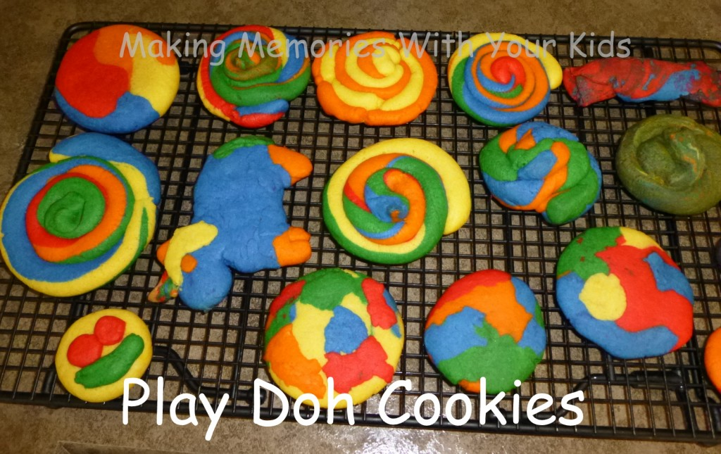 play doh cookies