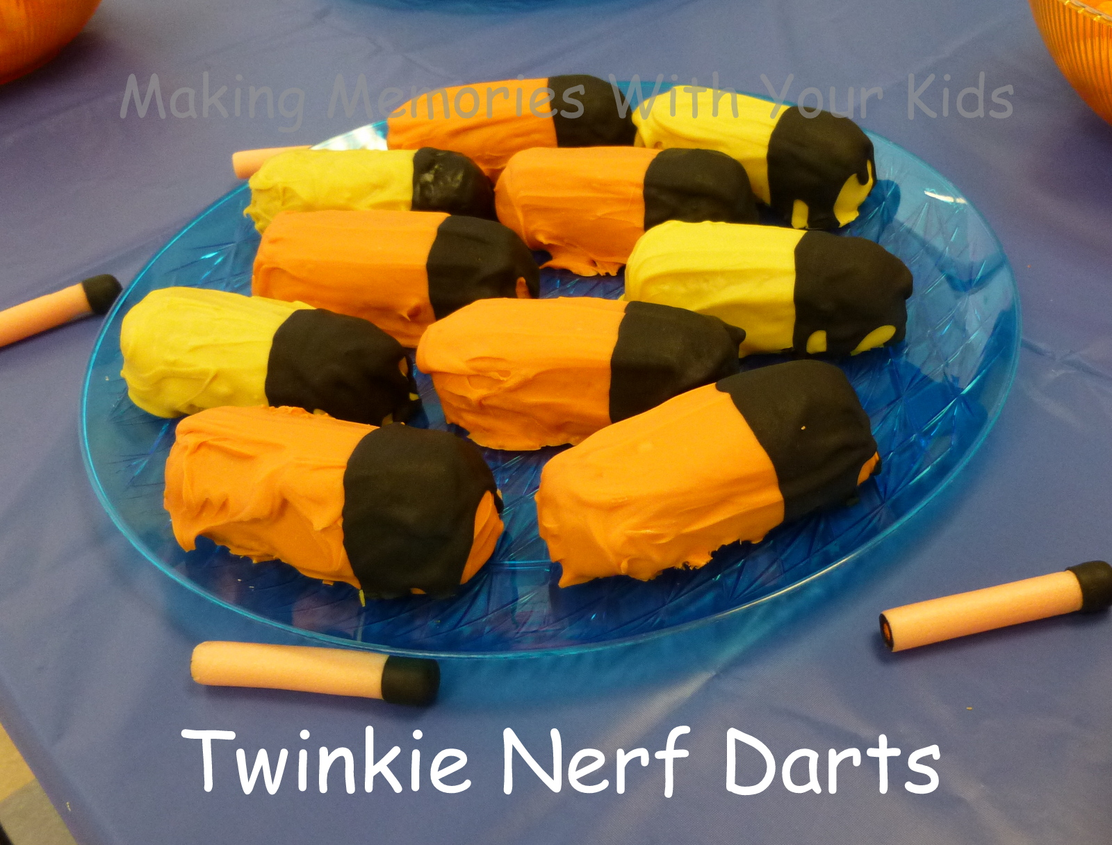 Twinkie Nerf Darts Making Memories With Your Kids