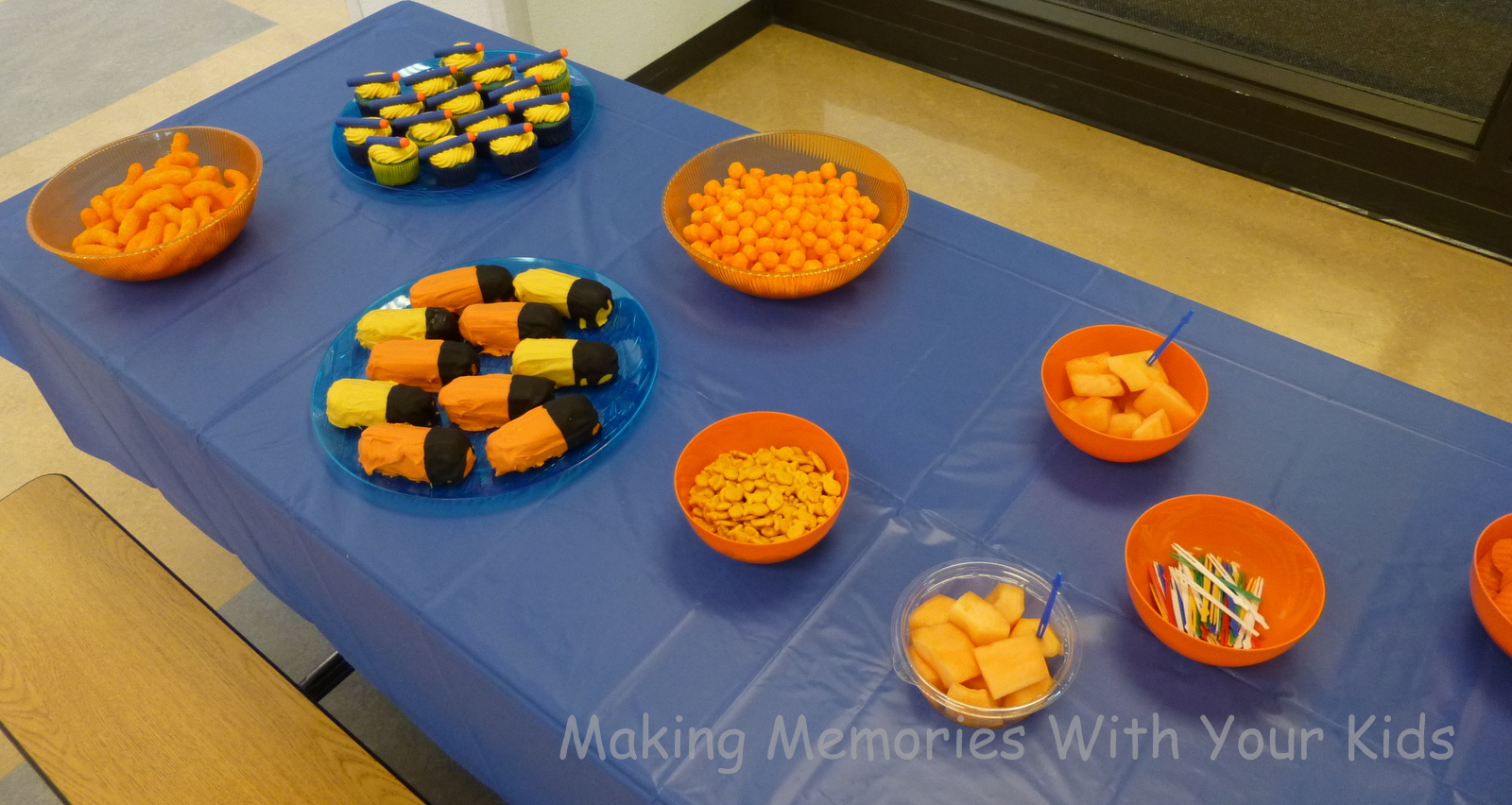 Nerf Birthday Party - Making Memories With Your Kids