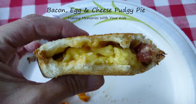 bacon egg and cheese pudgy pie