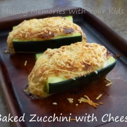 Baked Zucchini with Cheese {Secret Recipe Club}